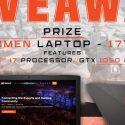 Readyup HP Owen gaming laptop giveaway