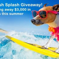 $3,000 summer cash splash giveaway