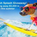 $3,000 summer cash splash giveaway