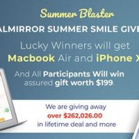 Win a macbook air and an iphone