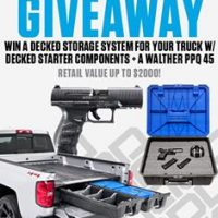 Win decked storage and PPQ .45 giveaway